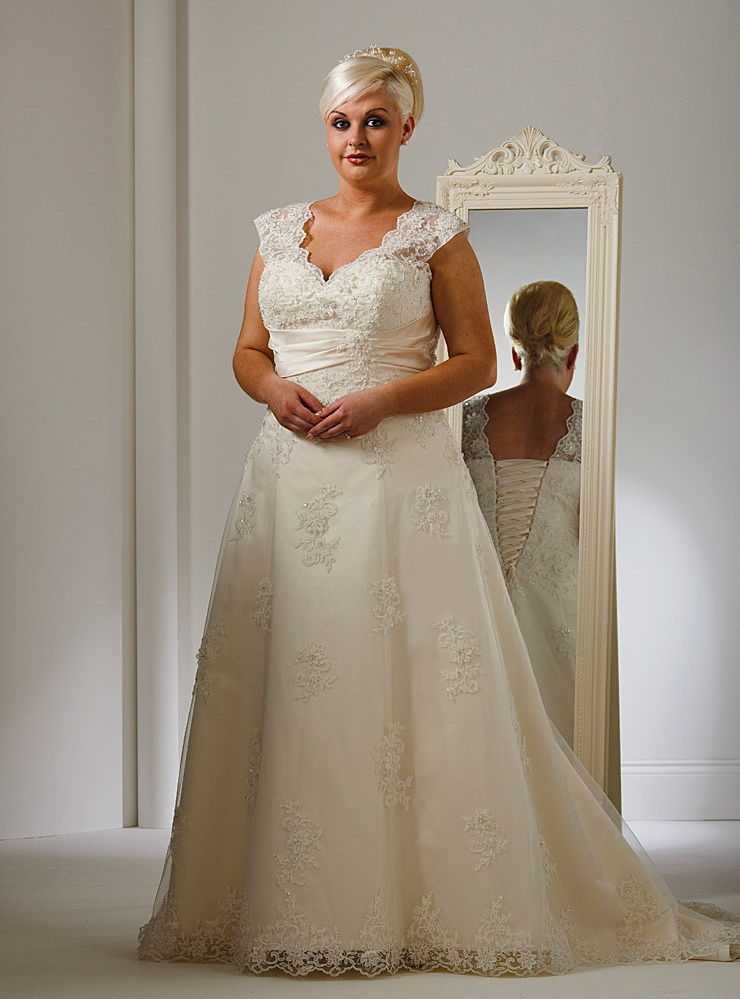 Plus Size Wedding Gowns Angelic Inspirations