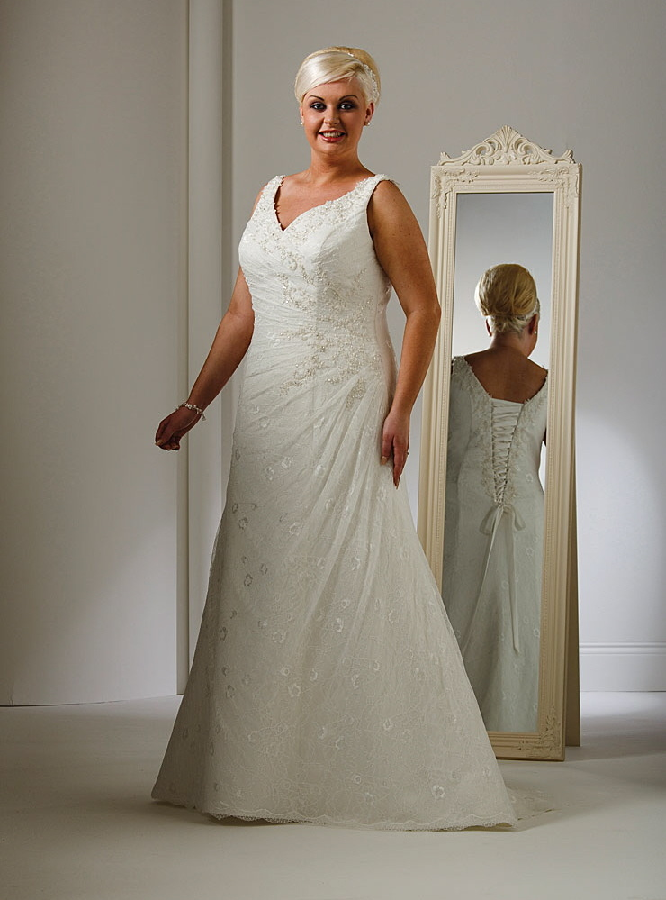 Plus Size Wedding Gowns - Angelic Inspirations