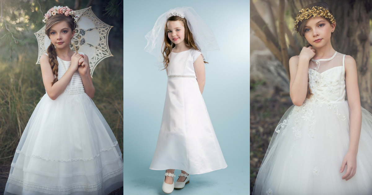 flowergirl dresses at Angelic Inspirations